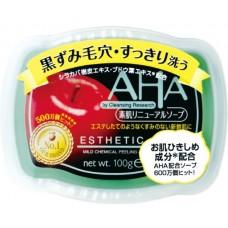 BCL AHA esthetic soap - мыло с эффектом пилинга