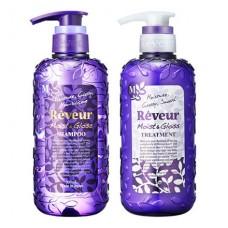 REVEUR Moist&Gloss shampoo — премиум шампунь для всех типов волос, 500 мл.