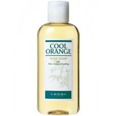 LEBEL Cool Orange hair soap (Cool type) — шампунь для ухода за кожей головы, 200 мл