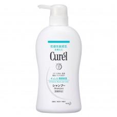 KAO Curel shampoo, Medicated — шампунь для чувствительной кожи головы, 440 мл.