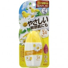 ROHTO Mentholatum Sunplay baby milk — солнцезащитное молочко для малышей SPF 34