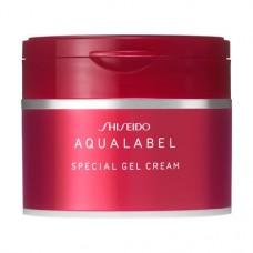 SHISEIDO Aqualabel Special Gel Cream — увлажняющий коллагеновый гель-крем