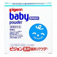 Pigeon  Baby Powder —  твердая  лечебная присыпка, 0+, 45 гр.