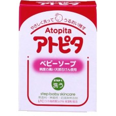Atopita step 1 baby soap - детское мыло для склонной к аллергии и раздражениям кожи, 0+