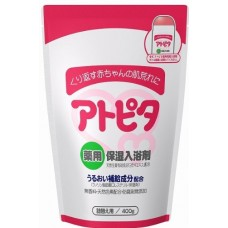 Atopita step 2 baby bath salt -  соль для ванны  при  аллергии и раздражениях кожи, 0+, refill 400 гр.