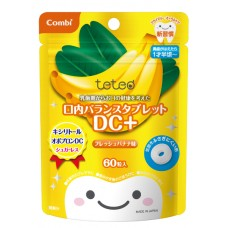 Combi teteo Bean DC+ - детские леденцы для укрепления зубов 18 мес+