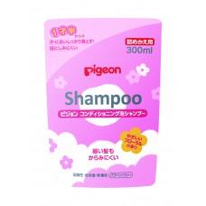 Pigeon  Shampoo — шампунь-пенка, 18мес+,  refill 300 мл.