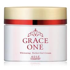KOSE Cosmeport Grace One WHITENING Perfect gel cream —  отбеливающий гель- крем для возрастной кожи