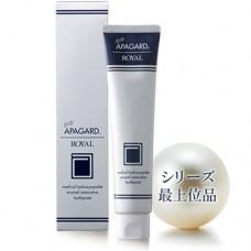 APAGARD Royal — отбеливающая паста c повышенным содержанием гидроксипатита, 135 гр.