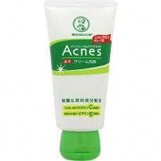 ROHTO Acnes cream face wash, medicated — кремовое средство для умывания