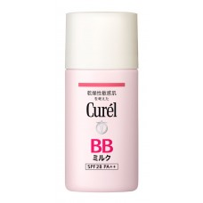 KAO Curel BB Face milk  маскирующее молочко с SPF 28 PA ++