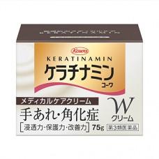 KOWA Keratinamin W – крем для рук и сухих участков кожи, туба 75 гр.