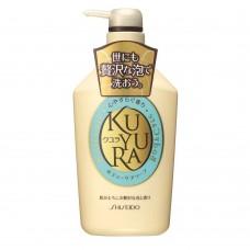 SHISEIDO Kuyura — гель для душа с восточным ароматом, 550 мл.
