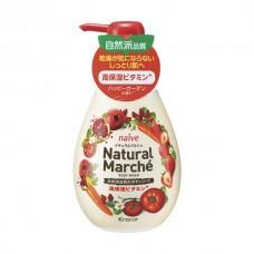 NAIVE Natural Marche — натуральный гель для душа с экстрактами овощей и фруктов, 480 мл.